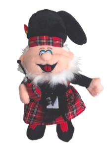Scottie, the School mascot