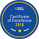ESL 2016 Certificate of Excellence